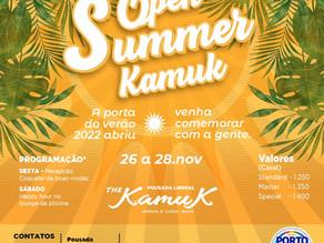De 26 a 28 de novembro 2021, Open Summer Kamuk