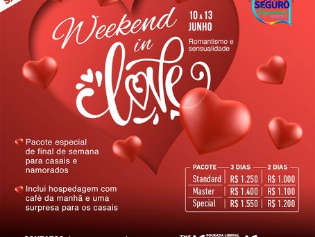 De 10 a 13 de junho 2021, Weekend in Love