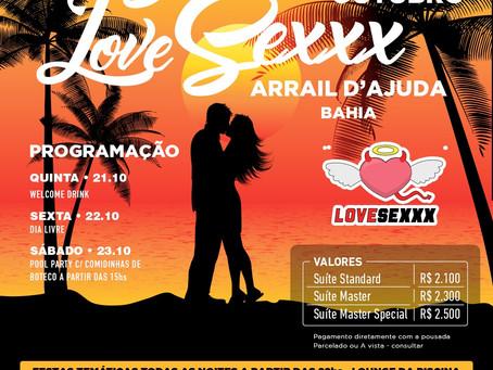 De 21 a 24 de outubro 2021, Sunset Love Sexxx