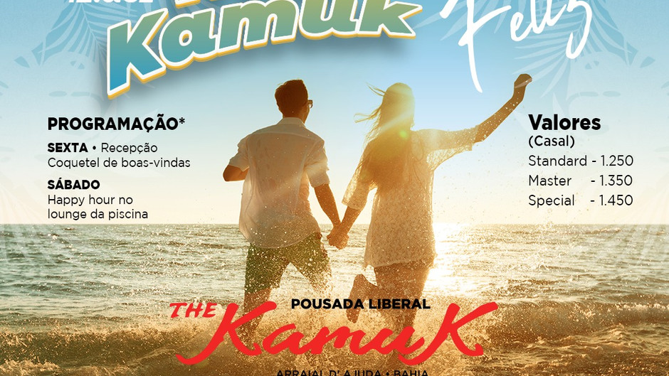 De 10 a 12 de dezembro 2021, Sol & Mar Kamuk