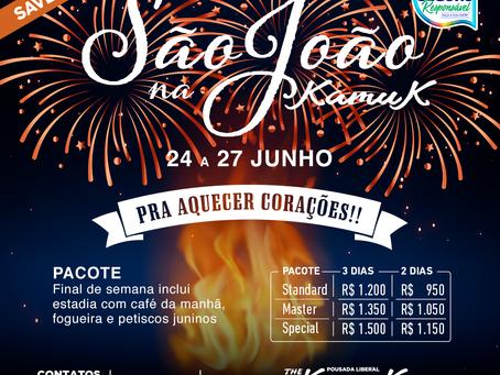 De 24 a 27 de junho 2021, São João na Kamuk