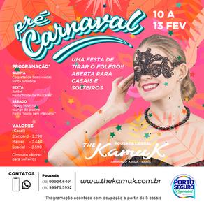 De 10 a 13 de fevereiro 2022, Pré Carnaval