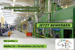G&B_Helfer_Produktion_Wir suchen DICH !!! Wir haben den richtigen JOB für DICH !!! JETZT BEWERBEN !!