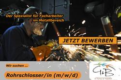 G&B_Rohrschlosserin_Wir suchen DICH !!! Wir haben den richtigen JOB für DICH !!! JETZT BEWERBEN !!!
