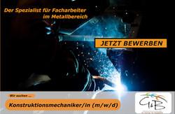 G&B_Konstruktionsmechanikerin_Wir suchen DICH !!! Wir haben den richtigen JOB für DICH !!! JETZT BEW