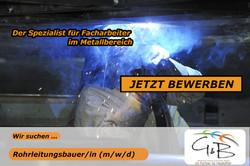 G&B_Rohrleitungsbauerin_Wir suchen DICH !!! Wir haben den richtigen JOB für DICH !!! JETZT BEWERBEN