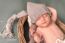 photo bebe avec bonnet