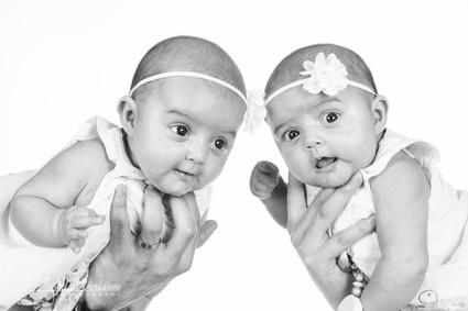 photo de bebes jumelles