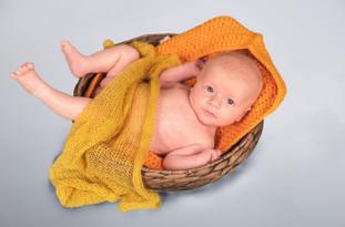 photo de bebe avec decor
