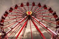 grand roue du marché de noel de liege