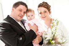 photo de famille à un mariage