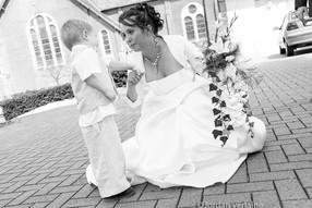 beau moment à un mariage