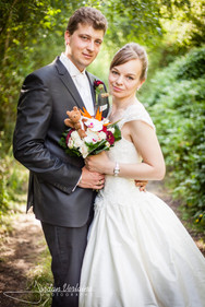 superbe photo de mariage