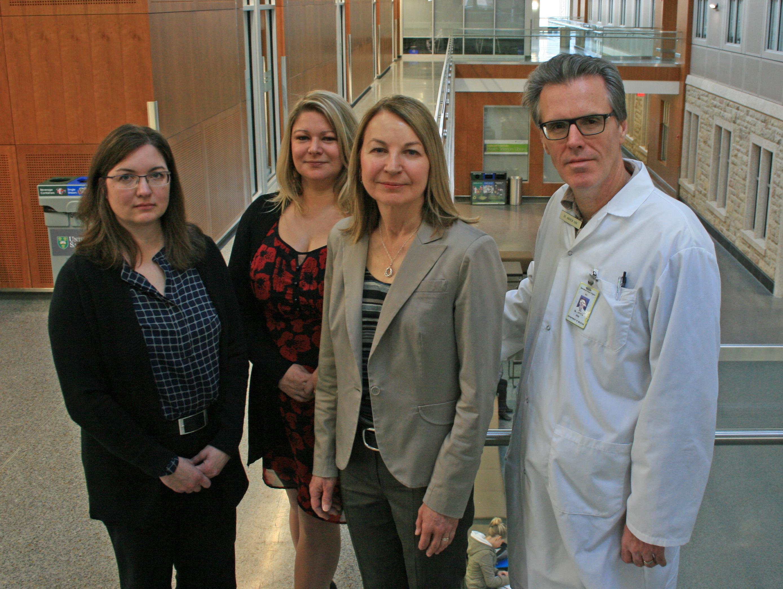 RaDAR Team: Left to right: Dr. Julie