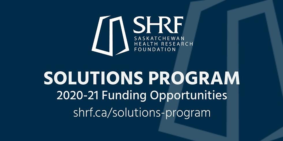 Solutions Program Information Session