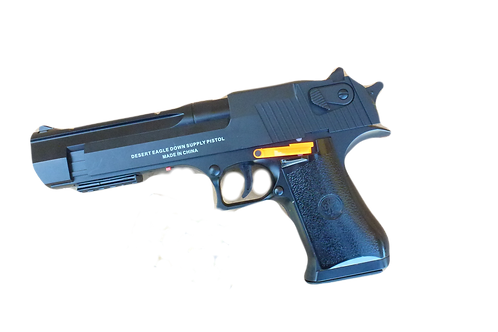 Desert Eagle Mag Fed Gel Blaster Side View