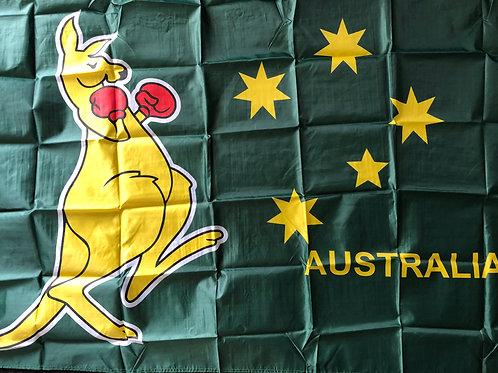 Australian boxingKangaroo flag