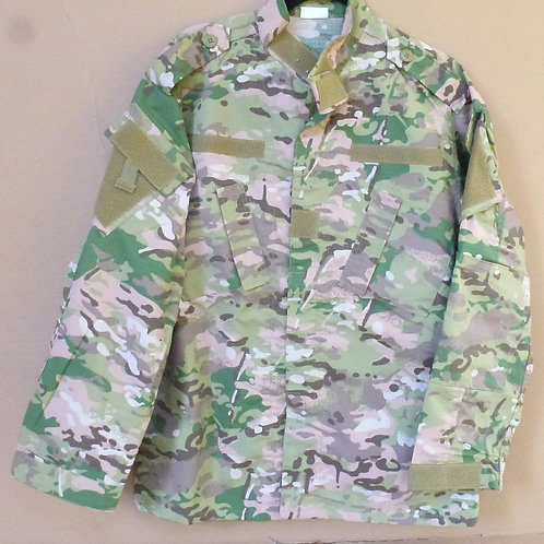 Camouflage Jacket Tactical Wear Front View