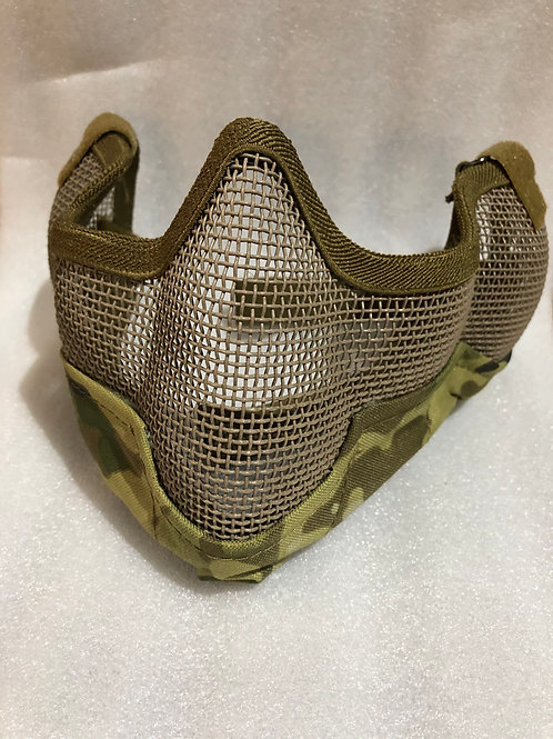 Tactical Mesh Face Mask Camouflage