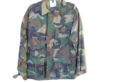 Camouflage Tactical Army Jacket
