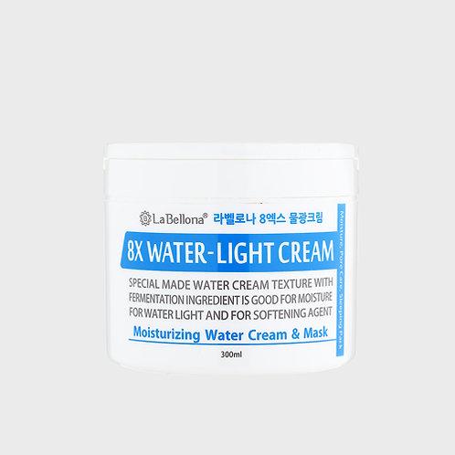 8X water light cream 300ml
