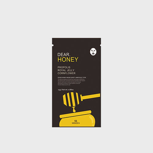 Dear.Honey facial sheet mask 25g