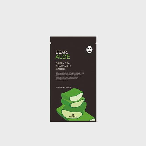 Dear.Aloe facial sheet mask 25g