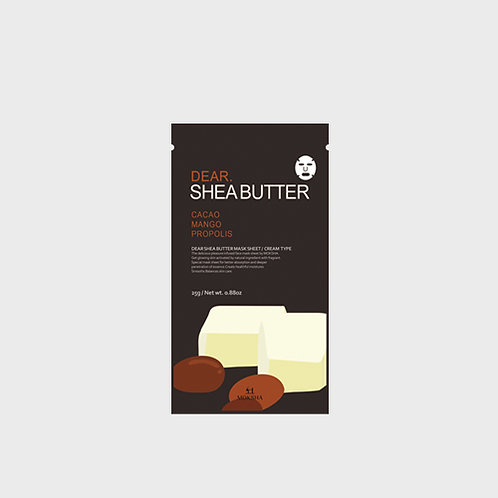 Dear.Shea butter facial sheet mask 25g