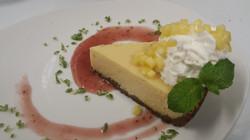 Key Lime Pie with Raspberry Rum