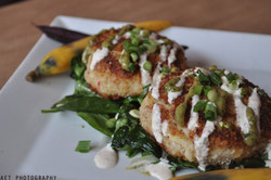 Pan Seared Blue Crab Cakes2