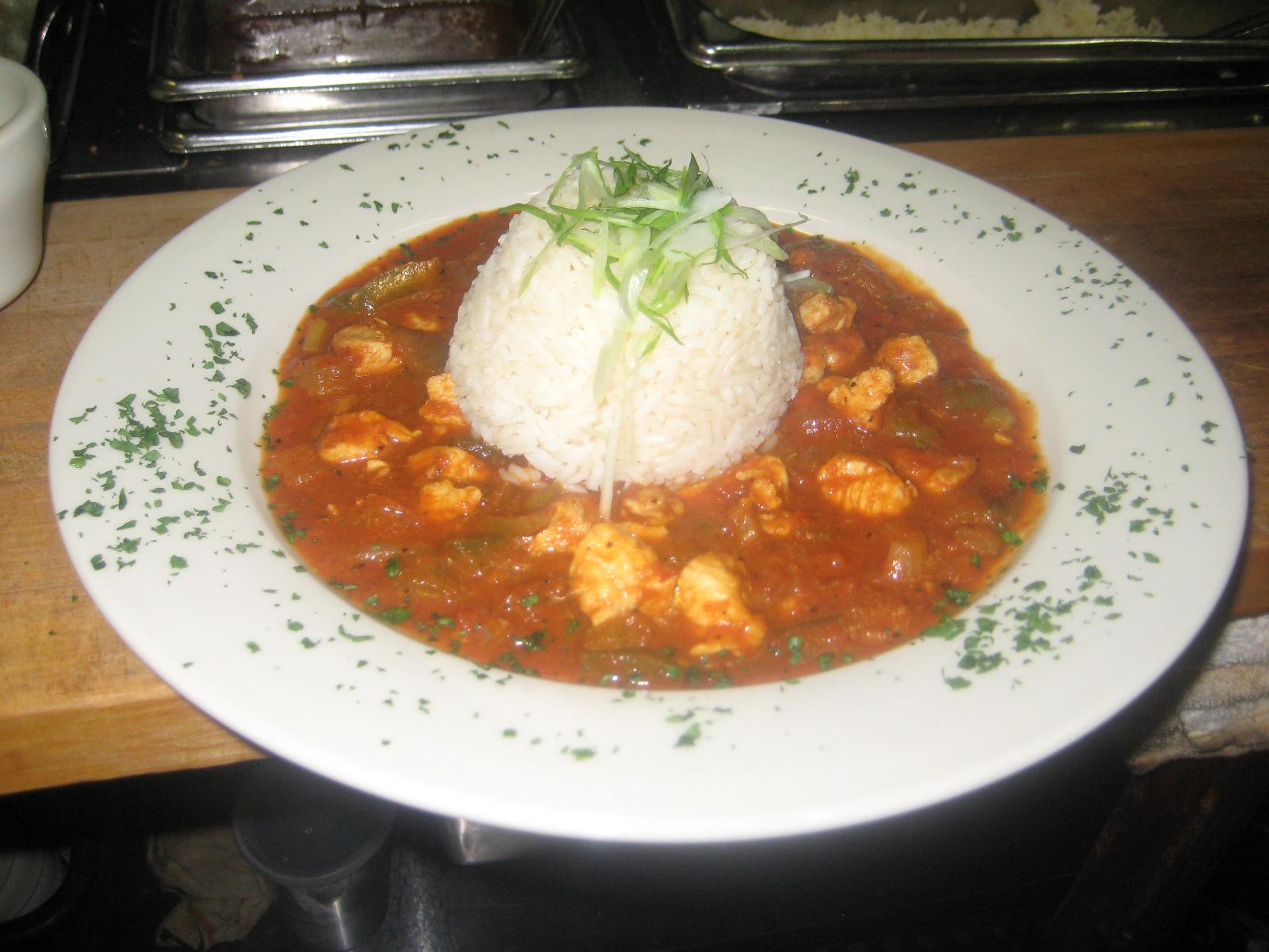Chicken Creole
