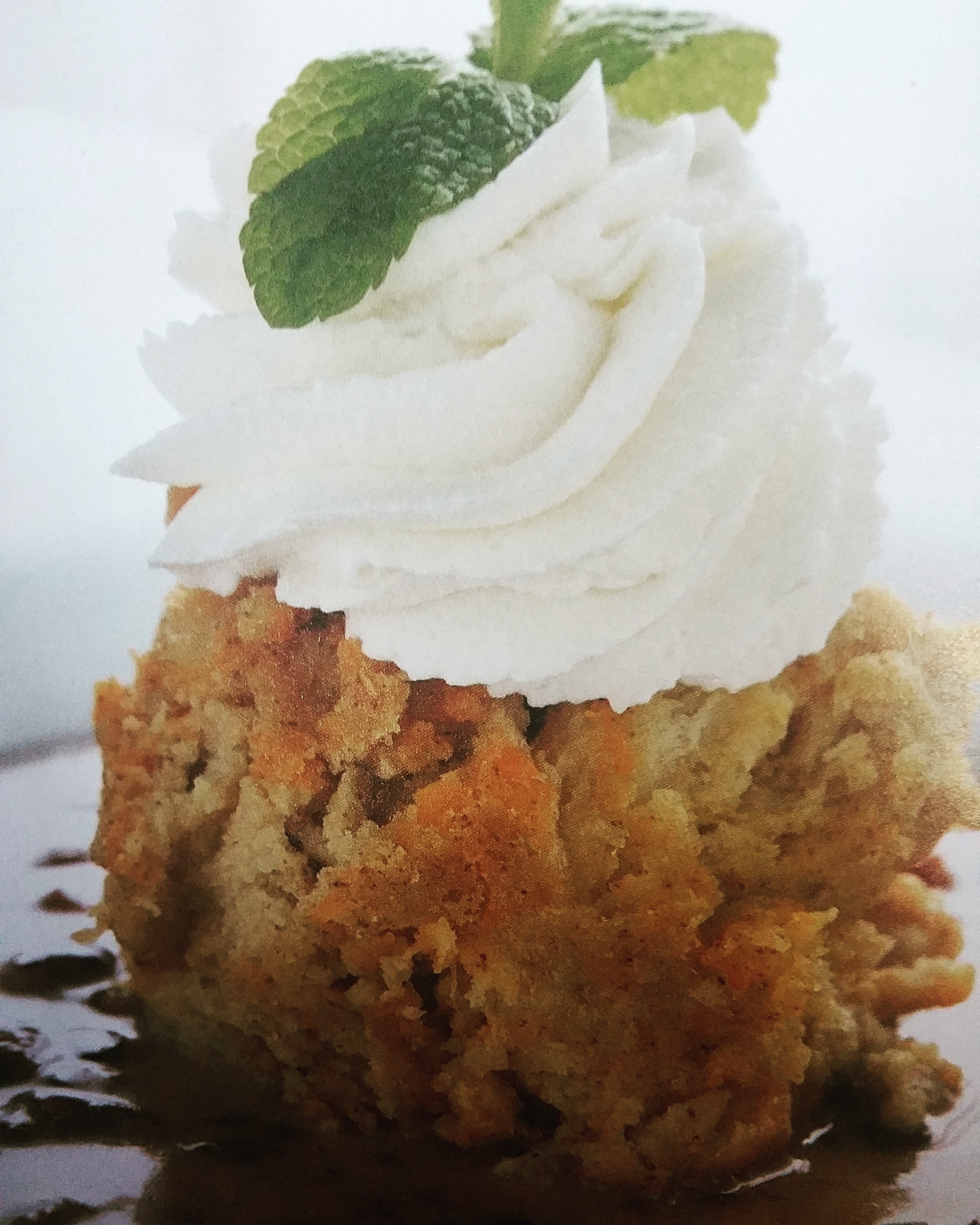 Carrot Cake Bread Pudding w/Toffee