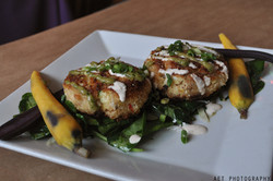 Pan Seared Blue Crab Cakes