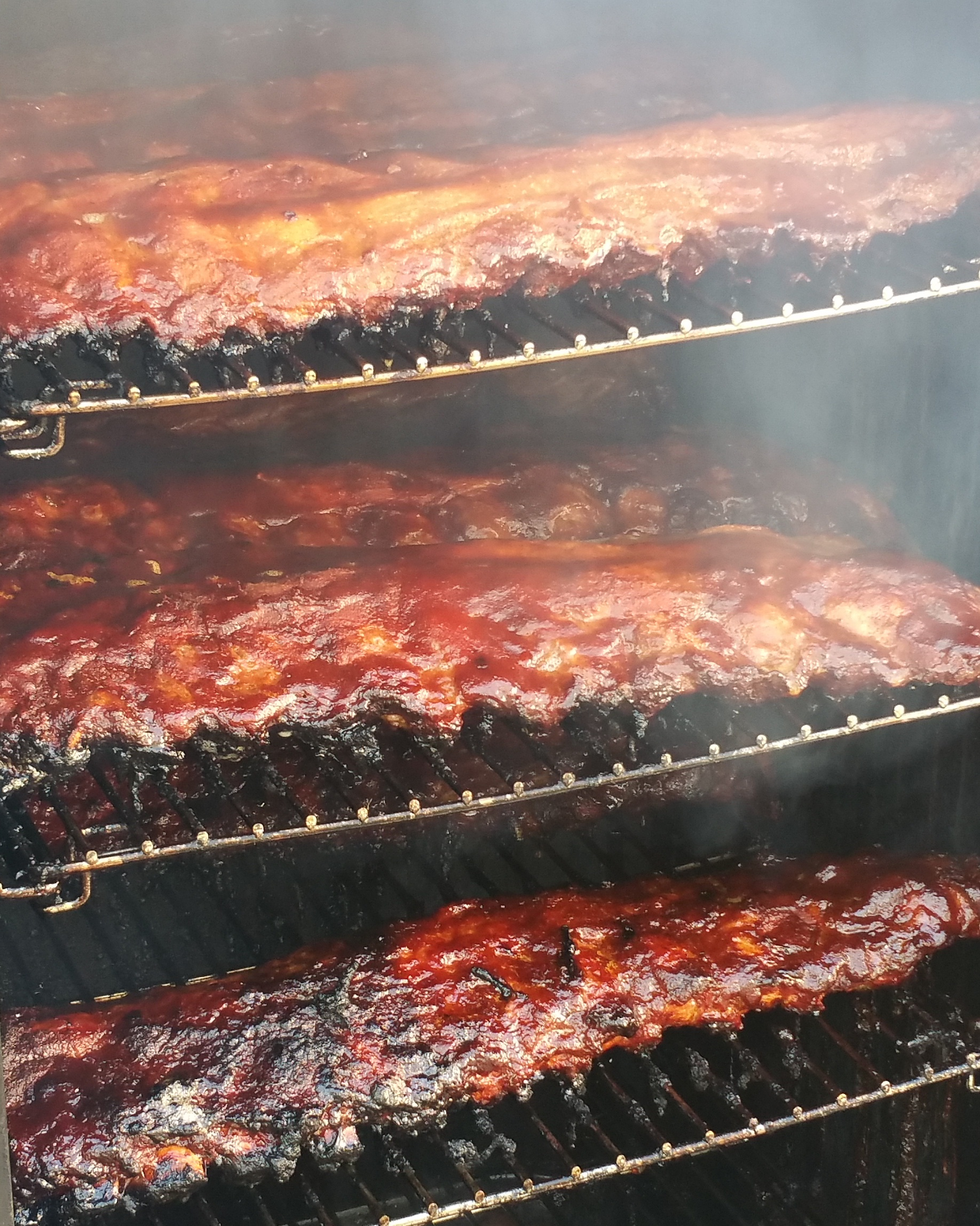 Apple Bourbon BBQ Ribs