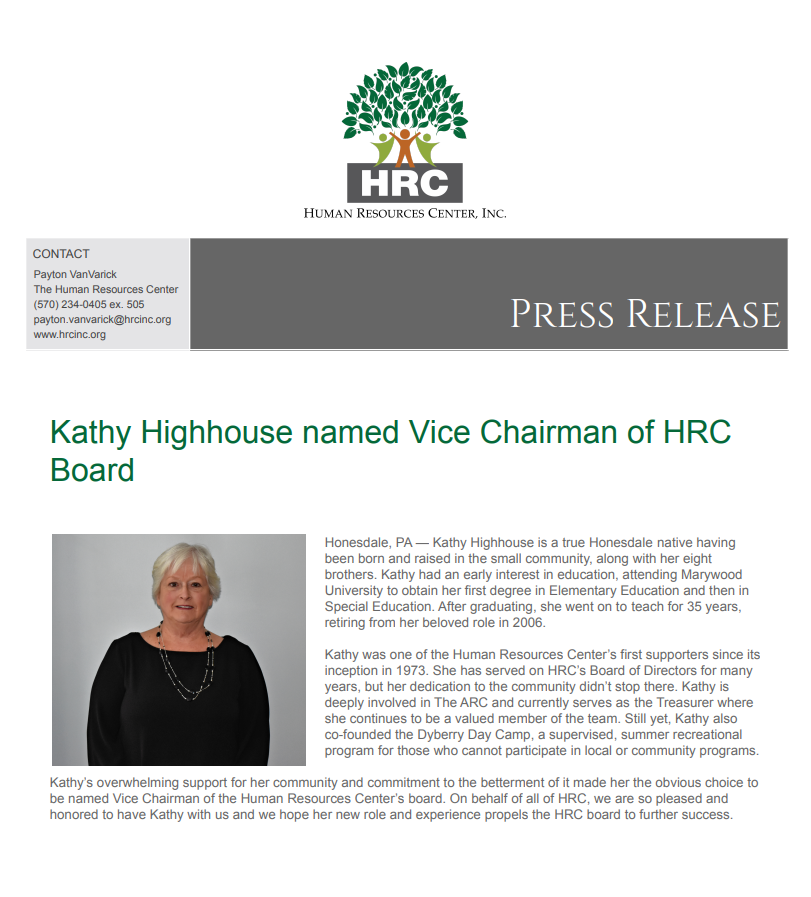 Kathy Highhouse Press Release.PNG