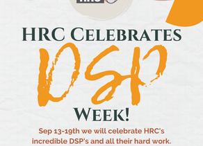 HRC Celebrates DSP Week 2020