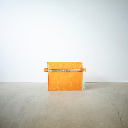 Ultralight pouch ( water proof ) L orange
