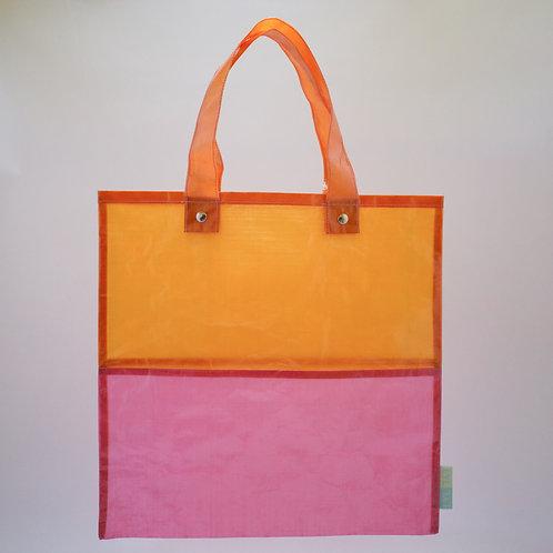 Ultralight flat bag 4040 pink/orange