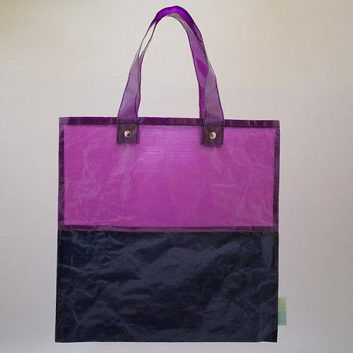 Ultralight flat bag 4040 navy/purple
