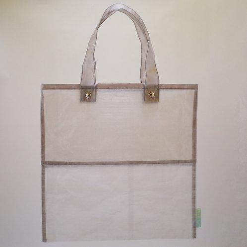Ultralight flat bag 4040 white/gray