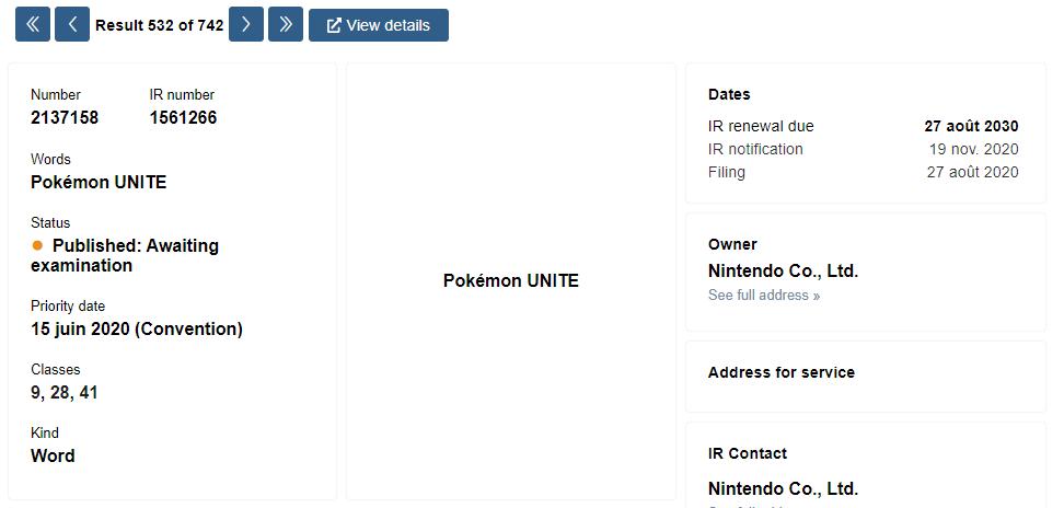 lançamento pokemon unite