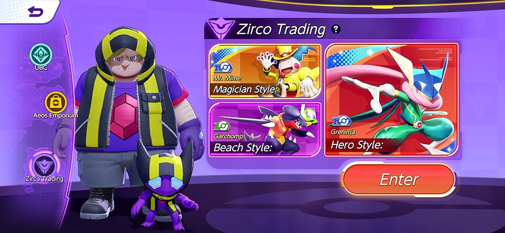 zirco trading loja halowear skins de pokémon pokémon unite pokelol moba de pokémon