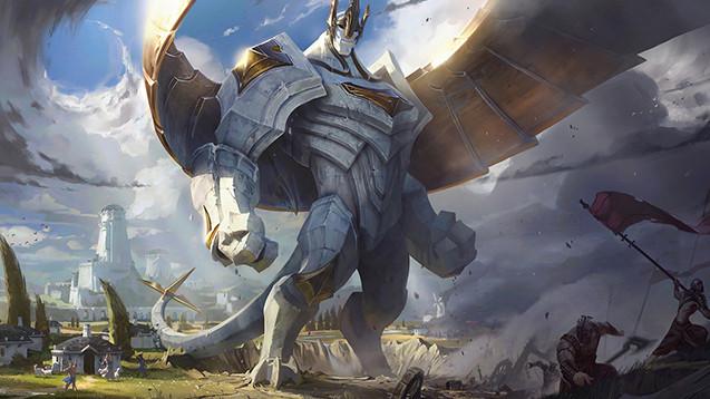 galio wild rift league of legends lol mobile