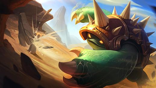 rammus lol wild rift league of legends lol mobile