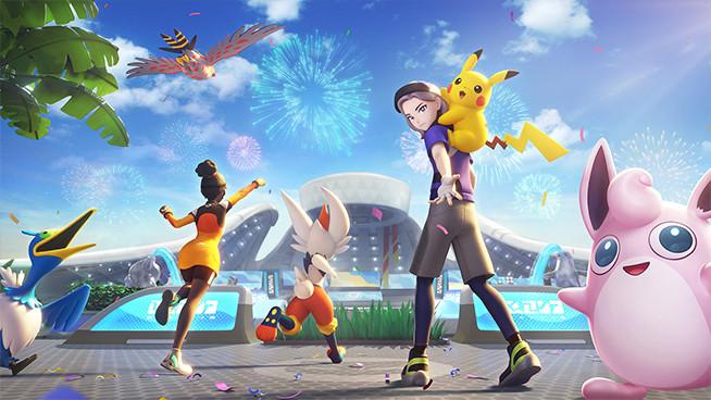 moba de pokémon pokémon unite download play store app store recorde lançamento
