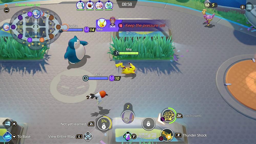 pokémon unite nintendo switch download beta gameplay