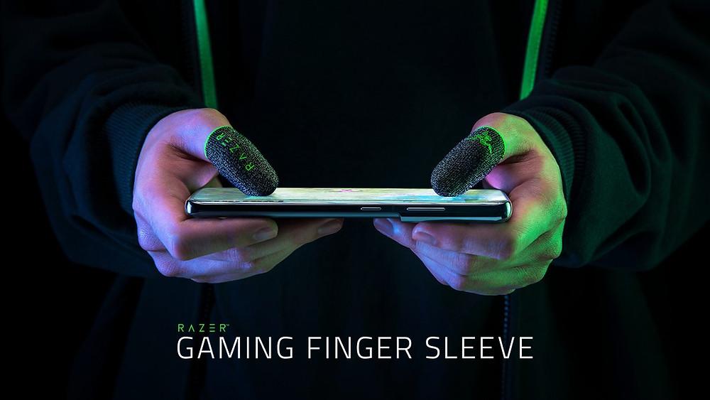 Razer Gaming Finger Sleeve dedal gamer razer mobile celulares