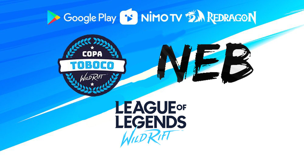 NEB campeã Copa Toboco de LOl wild rift league of legends
