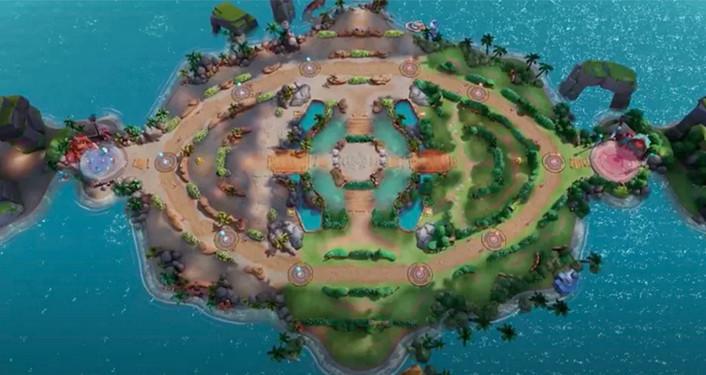 mapa 1 pokemon unite