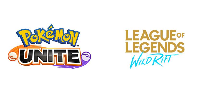 Pokemon unite lol wild rift mobas mobile